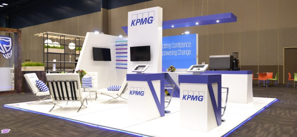 KPMG Exhibition Stand